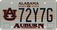 Véritable Plaque d'immatriculation de l'Alabama (72Y7G) - License Plate USA