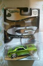 Hot Wheels G Machines 1970 Plymouth Hemi Cuda  green