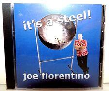 Hard To Find -SEALED ! Joe Fiorentino CD It's A Steel,Private Label (Venice,Fl.)