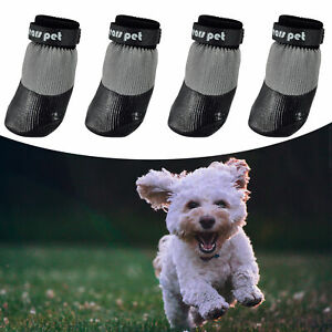 Dogs Outdoors Anti-slip Socks Soft Rubber Waterproof Dog Strapped Boots Shoes