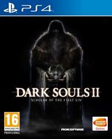 DARK SOULS II 2 SCHOLAR OF THE FIRST SIN PS4 NUEVO PRECINTADO EN CASTELLANO PS4