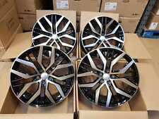 "18"" Vw Santiago GTI GTD Style Alloy Wheels Fit Caddy Golf 5 6 7 Scirocco Leon"