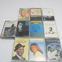 Lot of 10 Assorted Music Cassette Tapes see description for titles