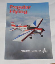 POPULAR FLYING MAGAZINE FEBRUARY/MARCH 1995 - L-4 SQUADRON SOUTH