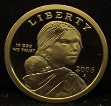 2006-S Proof Sacagawea Dollar - Deep Cameo!