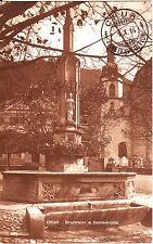 Switzerland Chur - Domkirche 1914 cover mailed sepia postcard