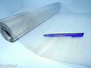 Medium Aluminium Modelling Mesh - 3m x 50cm Roll