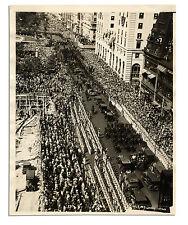 1927 Photo of Charles Lindbergh NYC Ticker Tape Parade