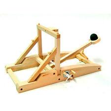 *NEW* Medieval Catapult Wooden Construction Craft Kit - Siege Engines davinci