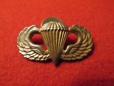 Paratrooper Jump wing US Army Airborne rare screw back
