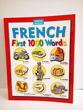 French - First 1000 Words - Learning French for Beginners France Language Book