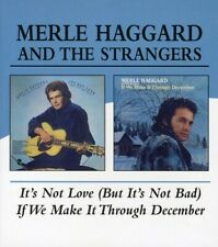 Merle Haggard - It's Not Love/If We Can Make It Through [New CD]