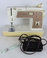 Vintage Singer Model 778 Touch & Sew II Domestic Sewing Machine - Tested/Working