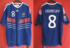 Maillot Equipe de France Gourcuff Adidas Vintage n° 8 Vintage NEUF - XL