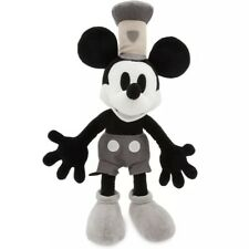 Disney Store Mickey Mouse Steamboat Willie Medium Plush 15""