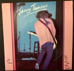 """Johnny Thunders 7"""" single. """"You Can't Put Your Arms Around a Memory"""" 1978"""