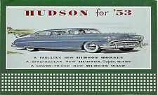 Billboard for Lionel Holder Hudson Automobiles For 1953