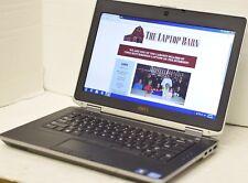 """Dell Latitude E6430 Laptop i5 2.6GHz 4GB 320GB CAM 14"""" HD+ 1600x900  nVidia SP5"""