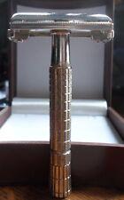 Vintage 1956 Gillette Super Speed Flare Tip Adjustable Razor B 4