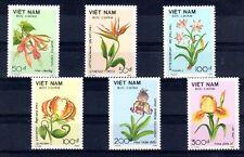 FLEUR Vietnam 6 val de 1989 ** FLOWER BLUME FIORE