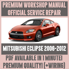 *WORKSHOP MANUAL SERVICE & REPAIR GUIDE for MITSUBISHI ECLIPSE 2006-2012 +WIRING