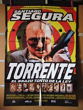 A1537 CARTEL CINE ORIG TORRENTE EL BRAZO TONTO DE LA LEY SANTIAGO SEGURA