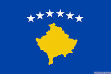 KOSOVA FLAG 3X2 feet 90cm x 60cm FLAGS KOSOVO
