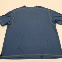 ●164 TOMMY BAHAMA BLUE T-SHIRT SIZE XL
