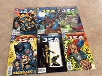 JSA #7,8,9,10,11,12 LOT OF 6 COMIC NM 2000 DC