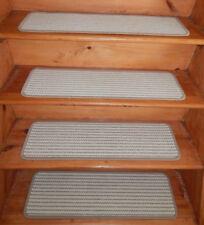 14 Step  9'' x 30'' + 1 Landing 30'' x 30'' carpet Wool Blend Woven Stair Treads