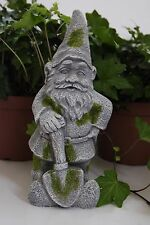 Garden Gnome Elf Statue Cement Concrete Yard Garden Decoration Ornament Sturdy