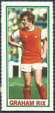 TOPPS-1981-FOOTBALLERS- #007-ARSENAL-GRAHAM RIX