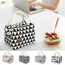 Portable Lunch Bag Thermal Insulated Lunch Bag Tote Storage Picnic Bag For Women