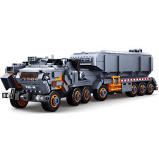 832Pcs Sluban DIY Van Carrier Military Series Building Block Model Toy Gift Set