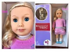 AMERICAN GIRL 22 Truly ME Doll ,Blond Hair,Blue Eyes NEW Crease at bottom of BOX