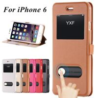 New Wallet Flip PU Leather Phone Case Cover Stand Holder For iPhone Samsung
