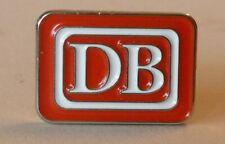 Pin/ Anstecker DB Deutsche Bundesbahn rot/weiß/silber 2 cm