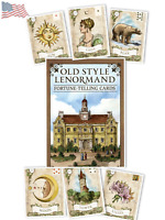 Old Style Lenormand Fortune Telling Cards Deck US Games Systems Alexander Ray