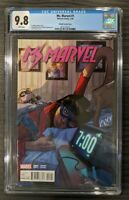 Ms. Marvel (2016) #1 CGC 9.8 Pichelli Variant Cover! Kamala Khan