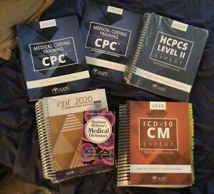 AAPC 2020 CPC Medical Coding Books Bundle w/BONUS Workbook & Medical Dictionary