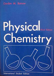 Physical Chemistry by Gordon M. Barrow (Paperback, 1973)