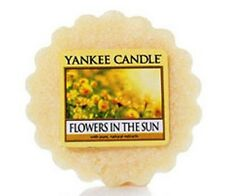 """Box Lot of 24 Yankee Candle """"FLOWERS IN THE SUN"""" Floral Tarts Wax Melts"""