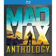 Mad Max Anthology 5051892193962 With Mel Gibson Blu-ray Region B