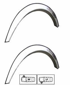 Vorne Radlauf Zierleisten 2 Stück CHROM styling für CHEVROLET SPARK Bj. 05-09