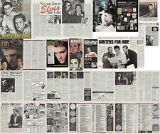 ELVIS PRESLEY : CUTTINGS COLLECTION -magazine articles-