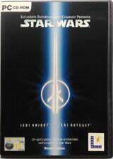 Game PC Star Wars Jedi Knight II 2 Jedi Outcast - Lucasarts 2002 Used