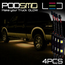 YELLOW LED Underbody Glow Under Car Accent Rock Neon Light Kit Chevy Colorado