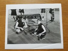 BILL DING 8x10 BLACK & WHITE Press Photo 90's ELECTRONIC Experimental Abstract