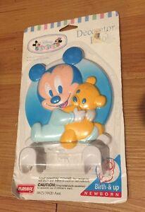 1995 Disney Babies Decorator Hooks Playskool New Sealed