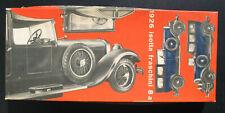 RIO - Isotta Fraschini 8a 1926 - 1:43 Auto Modellbausatz Car Model Kit